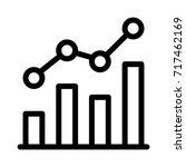 combo chart   Shutterstock .eps vector #717462169