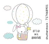 Little Bunny In A Hot Air...
