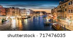 view to the canale grande in... | Shutterstock . vector #717476035