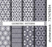 triangle geometric vector... | Shutterstock .eps vector #717478354