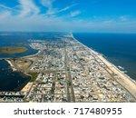 seaside heights area in new... | Shutterstock . vector #717480955