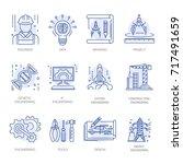 engineering construction energy ...   Shutterstock .eps vector #717491659
