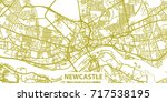 detailed vector map of... | Shutterstock .eps vector #717538195