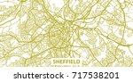 detailed vector map of... | Shutterstock .eps vector #717538201