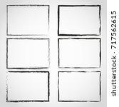 grunge frame.grunge background... | Shutterstock . vector #717562615