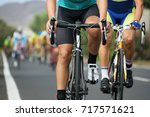 cycling competition cyclist...   Shutterstock . vector #717571621