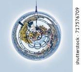 360 Degree Sphere. Panorama Of...
