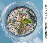 360 Degree Sphere. Panoramic...