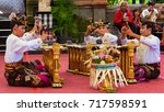 bali  indonesia   june 21  2015 ... | Shutterstock . vector #717598591