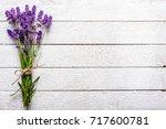 fresh flowers of lavender... | Shutterstock . vector #717600781
