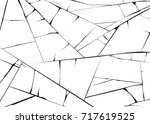 texture of ice surface. vector... | Shutterstock .eps vector #717619525