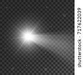 vector light sources ... | Shutterstock .eps vector #717622039