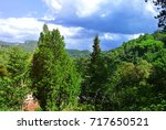 the nature of catalonia.... | Shutterstock . vector #717650521