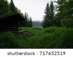 Small photo of Lean to in West Canada Lakes, Adirondacks, NY