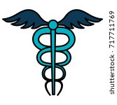 medical symbol isolated icon | Shutterstock .eps vector #717711769