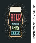 poster or banner with text beer ... | Shutterstock .eps vector #717731209