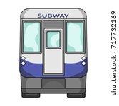 wagon  single icon in cartoon... | Shutterstock .eps vector #717732169