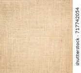 burlap texture background | Shutterstock . vector #717742054