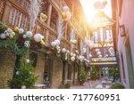 strasbourg  alsace  france  ... | Shutterstock . vector #717760951