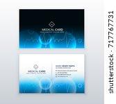 healthcare medical business... | Shutterstock .eps vector #717767731