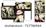 stock illustration. people in... | Shutterstock .eps vector #717786964