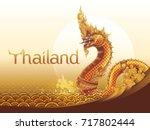 Thai Dragon Or Serpent King Or...