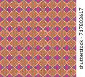 geometric seamless surface... | Shutterstock .eps vector #717803617