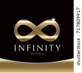 infinity symbol icons vector... | Shutterstock .eps vector #717809917