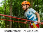 active children's recreation.... | Shutterstock . vector #717815221