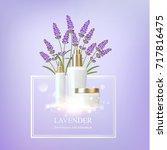 women care cosmetic in... | Shutterstock .eps vector #717816475
