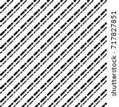 black diagonal dashed lines... | Shutterstock .eps vector #717827851