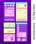 interface ui design. vector...