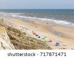 playa del asperillo beach in... | Shutterstock . vector #717871471