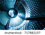 wash machine inside | Shutterstock . vector #717882157