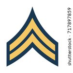 military ranks and insignia.... | Shutterstock .eps vector #717897859