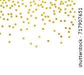 festive explosion of confetti.... | Shutterstock .eps vector #717907651