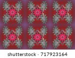 flat design. raster nice... | Shutterstock . vector #717923164