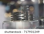 Close Up Small Tube Or Coil Of...