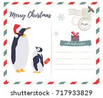 holiday greeting card with... | Shutterstock .eps vector #717933829