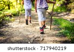 Children Hiking In Mountains O...