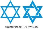 vector illustration of star of... | Shutterstock .eps vector #71794855