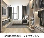 3d rendering luxury modern... | Shutterstock . vector #717952477