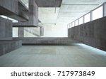 abstract  concrete interior... | Shutterstock . vector #717973849