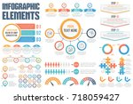 infographic elements   process  ... | Shutterstock .eps vector #718059427
