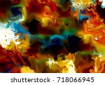 color abstract background.... | Shutterstock . vector #718066945