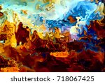 abstract background and color... | Shutterstock . vector #718067425