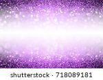 Abstract purple glitter sparkle ...