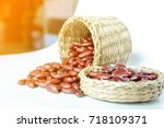 seed  seed to tree  bean    Shutterstock . vector #718109371