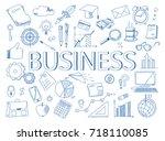 hand drawn design vector...   Shutterstock .eps vector #718110085