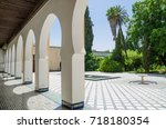 Beautiful White Arches Of...